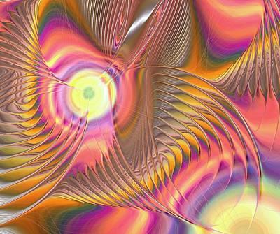 Digital Art - Liquid Rainbow by Anastasiya Malakhova