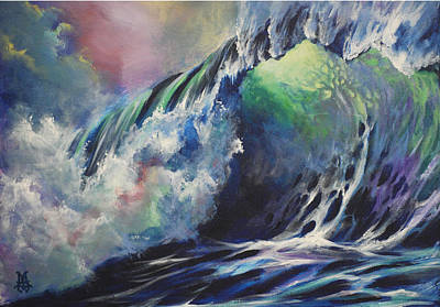 Liquid Rainbow Original by Marco Antonio Aguilar