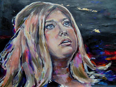 Adele Painting - Lisa Martin - Its Adele by Lucia Hoogervorst