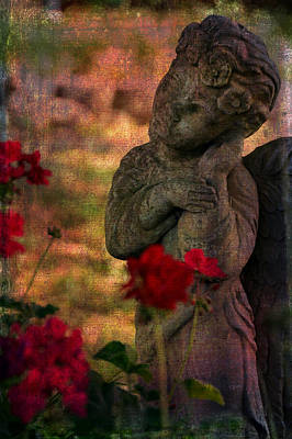 Angel Photograph - Listener by Lesa Fine