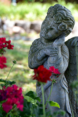 Angel Photograph - Listener Original by Lesa Fine