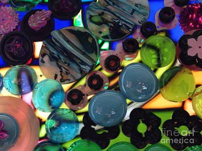 Ceramic Mixed Media - Lite Brite by Nancy M Arcieri