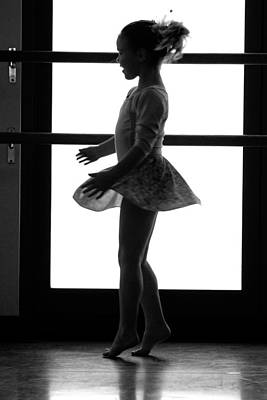 Little Ballerina Print by Jill Reger