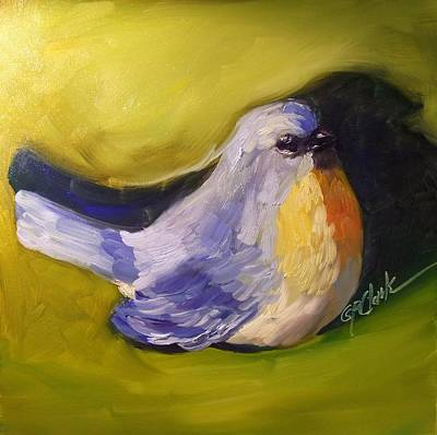 Painting - Little Birdie Told Me by Donna Pierce-Clark