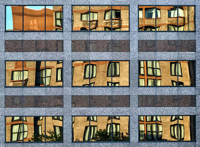 Distortion Photograph - Little Boxes by Anne Worner