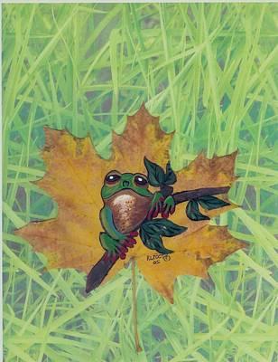 Little Buddy Frog Original by Ralph Root