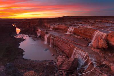 Darren Photograph - Little Colorado Sunset by Darren White