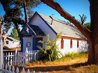 Gathering Photograph - Little Country Church by Glenn McCarthy Art and Photography