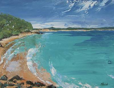 Painting - Little Cove View by Chris Hobel
