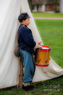 Little Drummer Boy Print by Lynn Sprowl