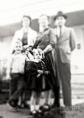 Granddaddy Photograph - Little Girl by Jenny Revitz Soper