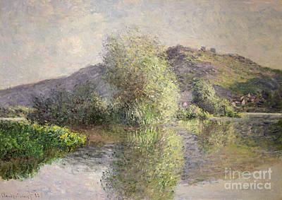 1883 Painting - Little Islands At Port-villez by Claude Monet