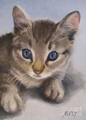 Little Kitty Original by Jindra Noewi