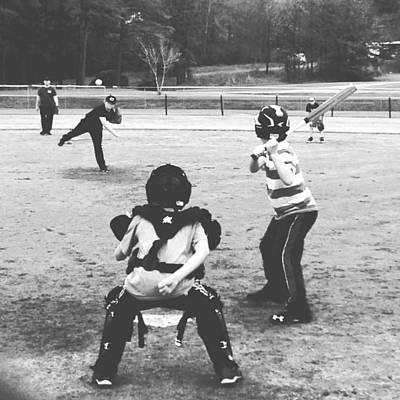 Ripkin Photograph - Little League by Haley Edwards