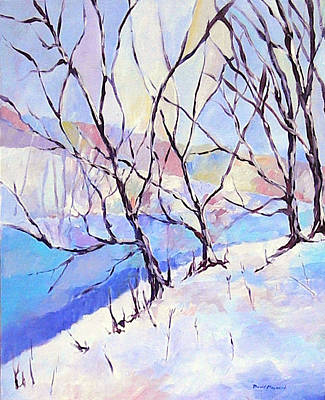 Painting - Little Miami Winter by David  Maynard