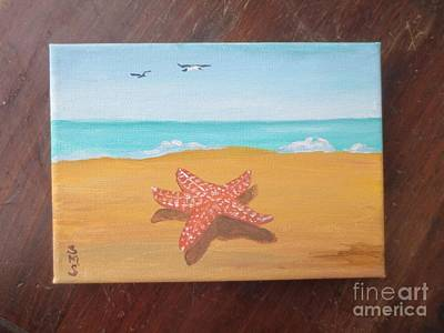 Painting - Little Star Fish by Stella Sherman