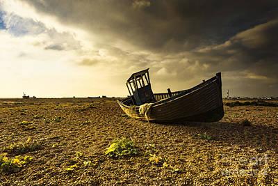Boating Mixed Media - Little Sunshine by Svetlana Sewell