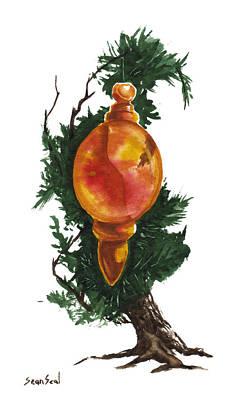 Little Tree 99 Print by Sean Seal
