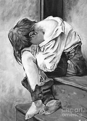 Littleboy Print by Richard Lezette