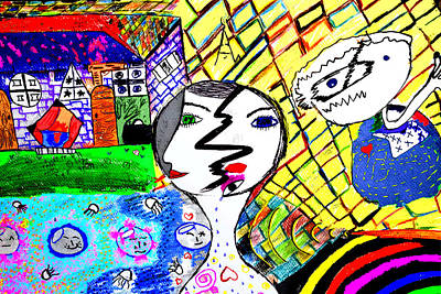 Live Print by Aya Wafi