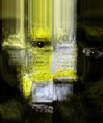 Yesayah Mixed Media - Living Beyond Flesh by Fania Simon