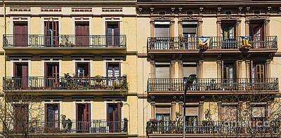 Barcelona Digital Art - Living In Barcelona by Svetlana Sewell