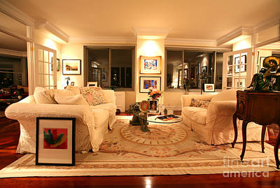 Living Room IIi Print by Madeline Ellis