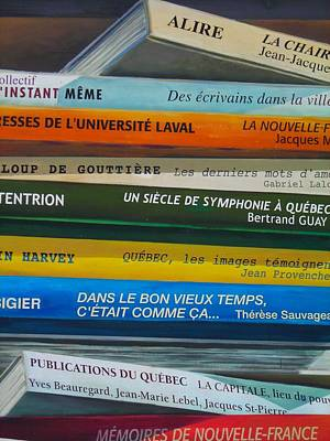Laval Photograph - Livres ... by Juergen Weiss