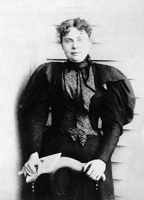 Lizzie Borden, Acquitted Suspect Print by Everett