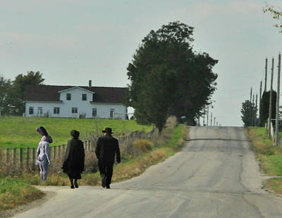 Amish Photograph - Lizzy's Dream by David Arment