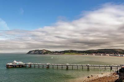 Beach Digital Art - Llandudno Pier by Adrian Evans