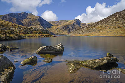 Mountain View Photograph - Llyn Ogwen  by Ian Mitchell