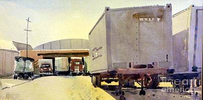 Loading Dock Print by Donald Maier