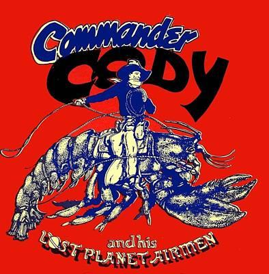 Lobsta Print by Commander  Cody