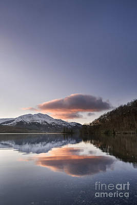 Loch Achray And Ben Venue 1 Print by Rod McLean