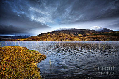 Loch Photograph - Loch Cill Chrisiod by Stephen Smith