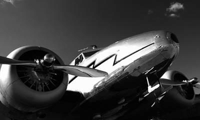 Lockheed 12a Electra Junior 1936 - I Print by Maxwell Amaro