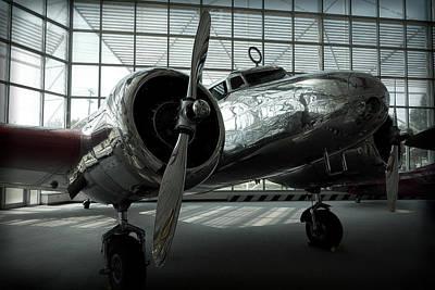 Lockheed Electra Aircraft Print by Daniel Hagerman