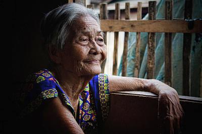 Filipina Photograph - Lola by James BO  Insogna