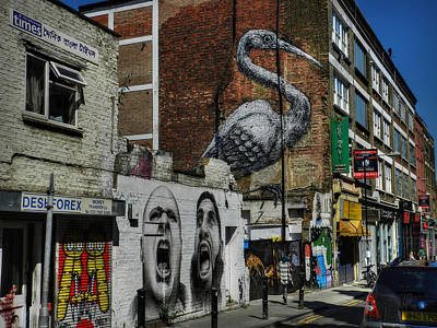 London 127 Print by Lance Vaughn