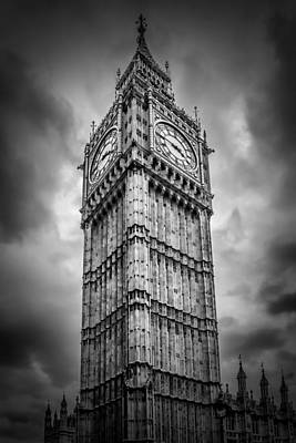London Big Ben Print by Melanie Viola