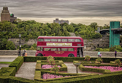 London Bus Print by Martin Newman