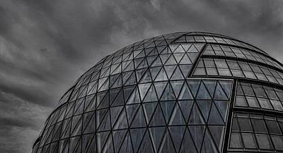London City Hall Print by Martin Newman