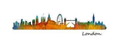 London City Skyline Hq V1 Original by HQ Photo