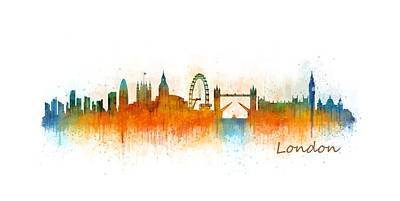 London City Skyline Hq V3 Original by HQ Photo