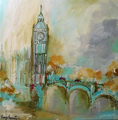 London Gold 2 Original by Irina Rumyantseva
