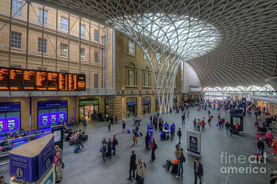 London King's Cross Print by Yhun Suarez