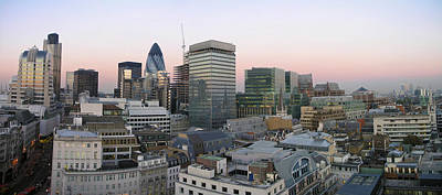 Business-travel Photograph - London Panorama From The Monument by Romeo Reidl