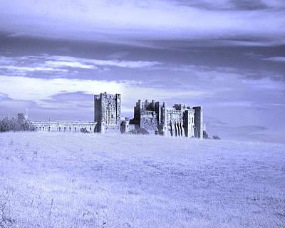 Lone Fortress Print by Vicki Lea Eggen
