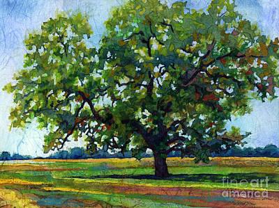 Lone Oak Original by Hailey E Herrera